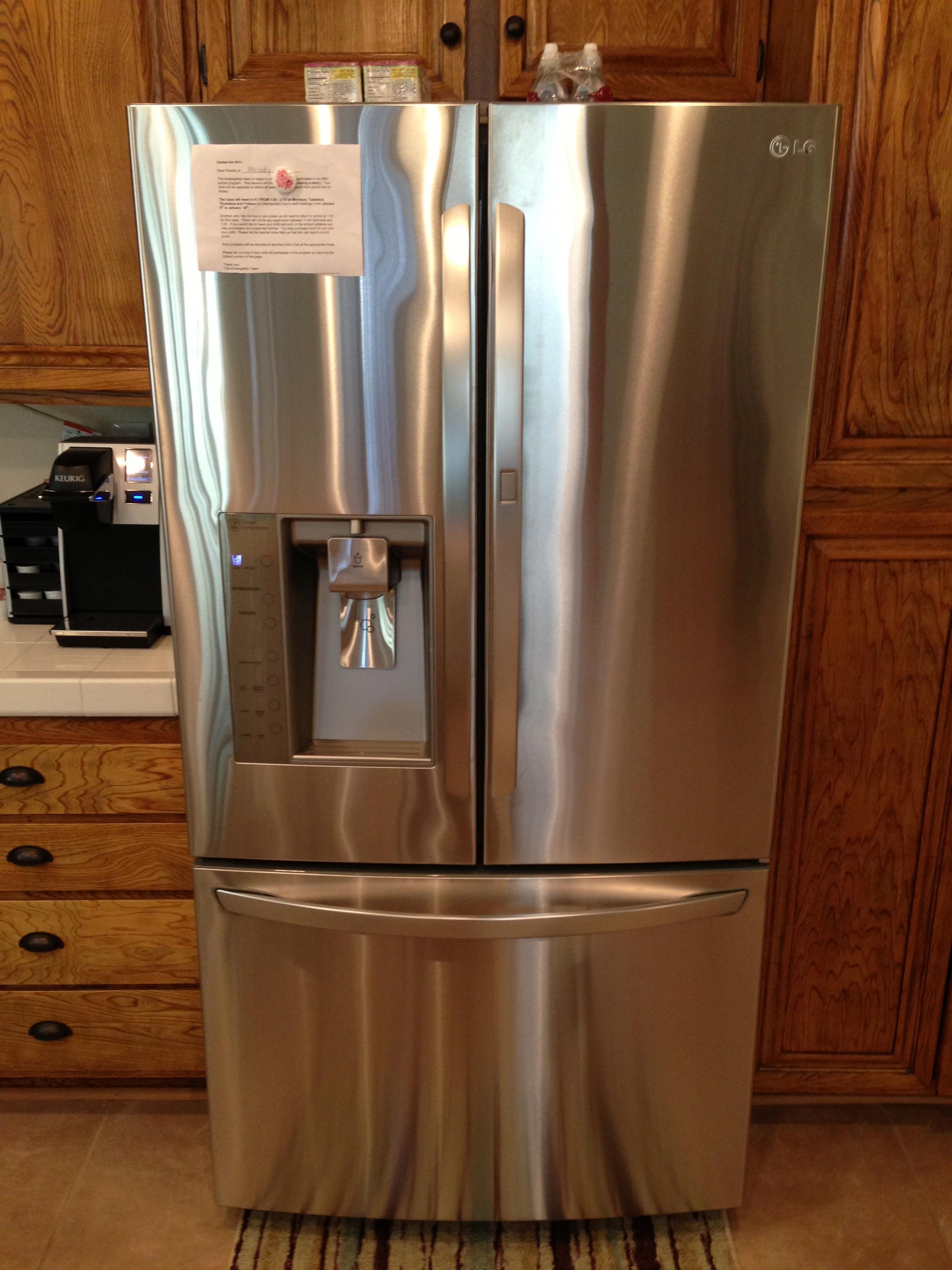 Home depot lg refrigerator