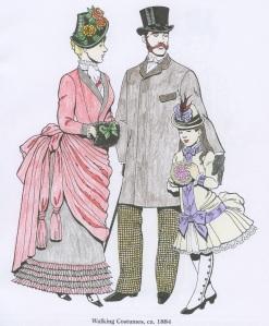 Walking Costumes ca. 1884