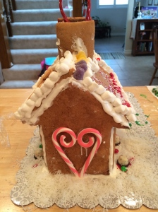 Gingerbread house love