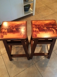 Two barstools