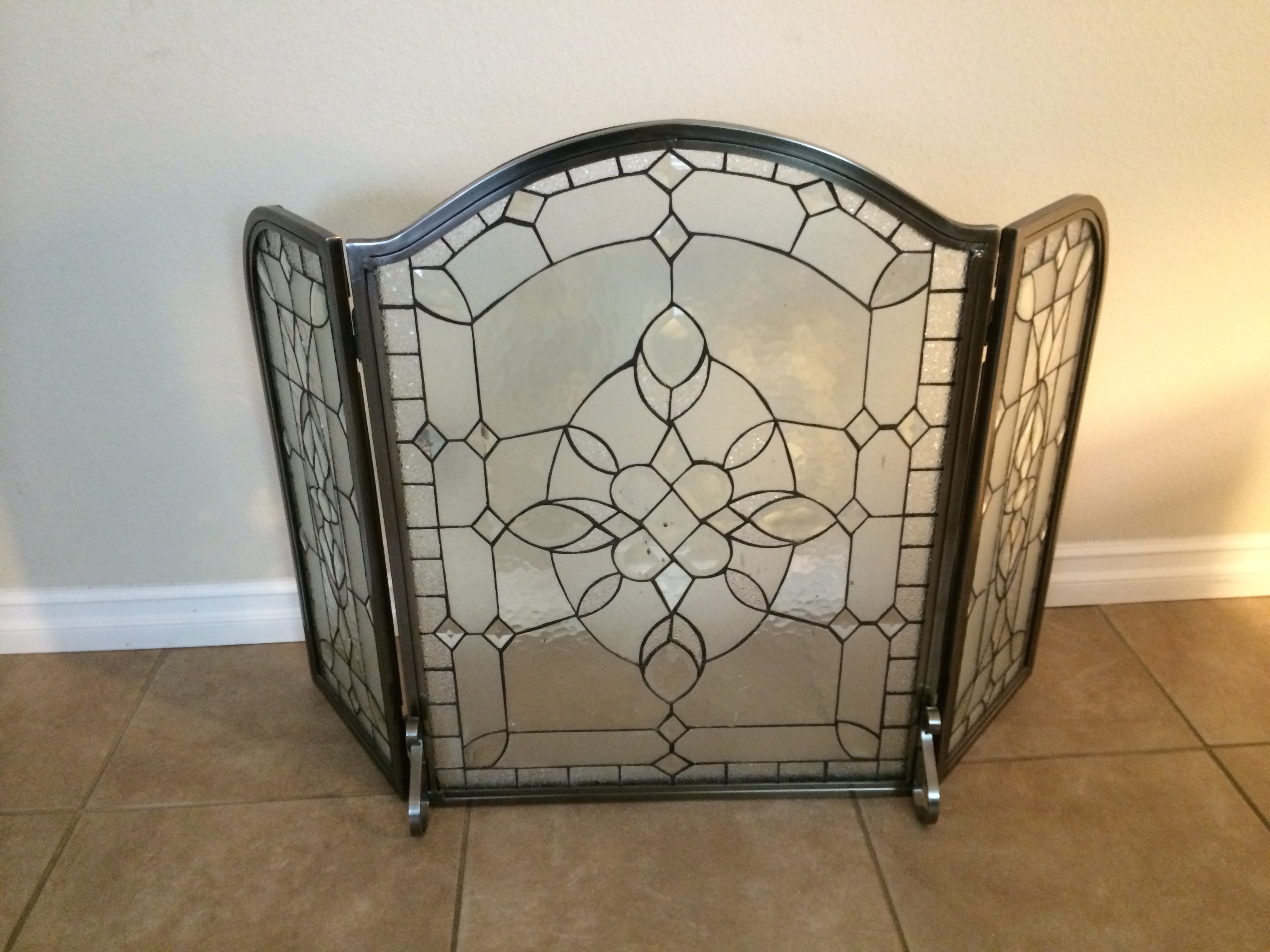 stained glass products window screen of designer arched fireplace bathroom picture chattanooga sgo llc