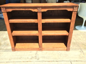 Nice wood bookcase